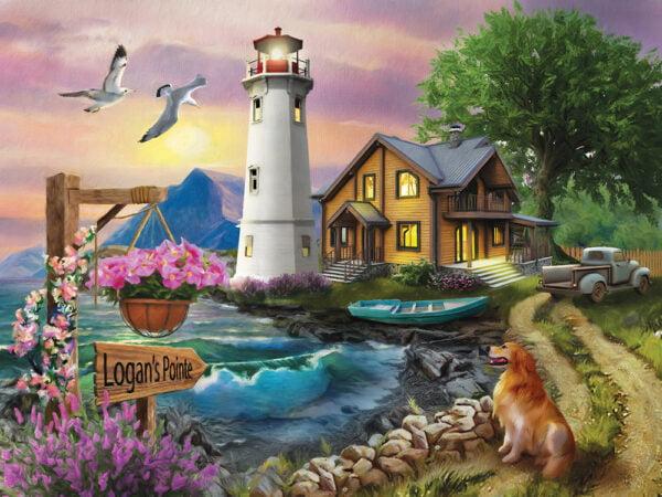 Logan's Pointe 1000 Piece Puzzle - Sunsout