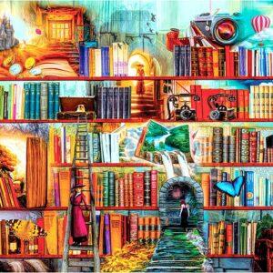 Mystery Writers 3000 Piece Puzzle - Anatolian