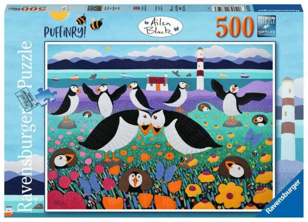 Puffinry 500 Piece Puzzle - Ravensburger