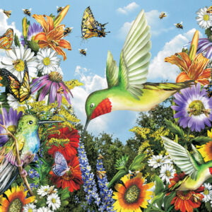 Save the Bees 300 Large Piece Puzzle - Sunsout