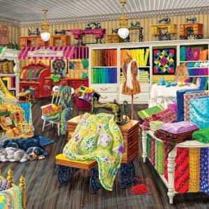 Sewing Store Companions 500 Piece Puzzle - Sunsout