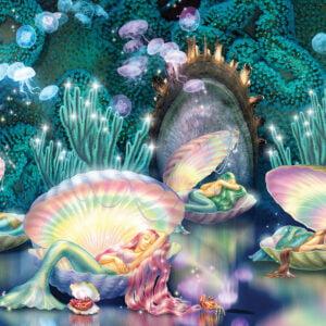 Sleeping Mermaids 1000 Piece Puzzle - Sunsout
