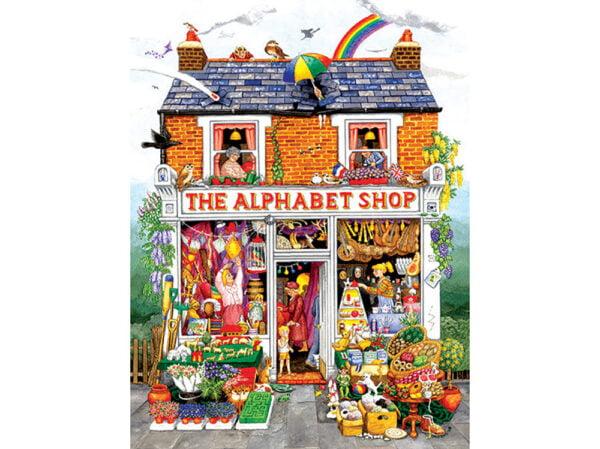 The Alphabet Shop 500 Piece Puzzle - Sunsout