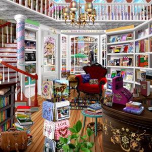 The Bookshop 1000 Piece Puzzle - Sunsout
