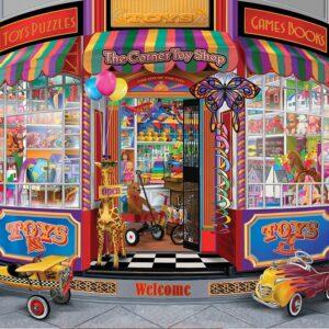 The Corner Toy Shop 300 large Piece Puzzle - Sunsout