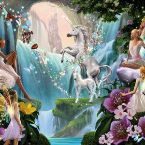 Unicorn and Fairy 1000 Piece Puzzle - Sunsout