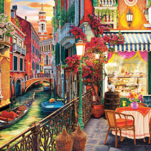 Venetian Cafe 2000 piece puzzle - Anatolian