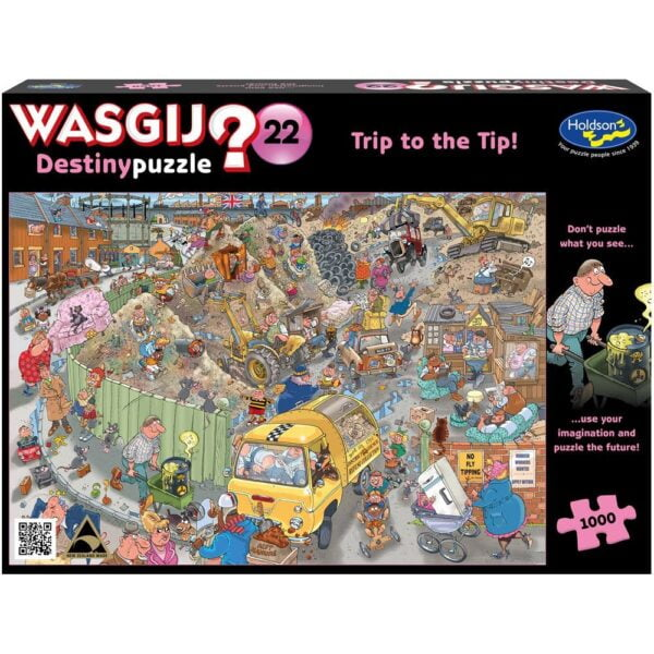 Wasgij Destiny 22 - Trip to the Tip 1000 Piece Puzzle - Holdson