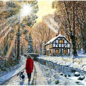 Winter Woodland 2000 Piece Puzzle - Anatolian