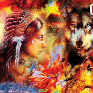 Wolf Maiden 1500 Piece Puzzle - Anatolian