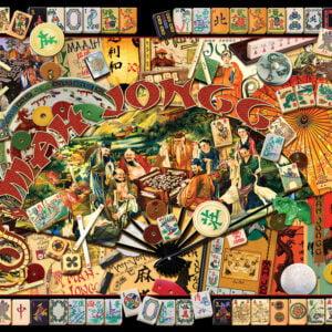 Mah Jongg Masters 1000 Piece Puzzle - Sunsout