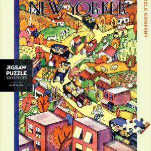 Autumn Excursion 1000 Piece Puzzle