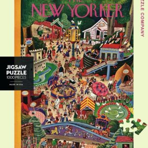 Day at the Zoo 1000 Piece Puzzle