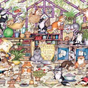 Gerty's garden Retreat 1000 Piece Puzzle - Gibsons