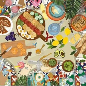 Gibsons Dream Picnic 636 Piece Puzzle
