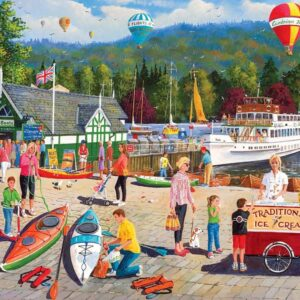 Lake Windermere 1000 Piece Puzzle - Gibsons