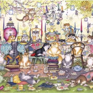 Mad Catters Tea Party 250 XL Piece Puzzle - Gibsons