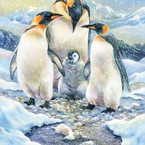 Penguin Family 350 Piece Family Puzzle - Cobble Hill