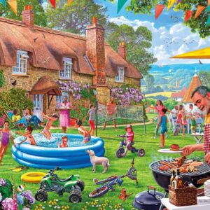 Summer Days 1000 Piece Puzzle - Gibsons