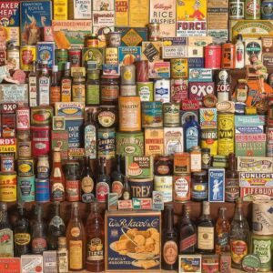The Brands that Build Britain 1000 Piece Puzzle - Gibsons