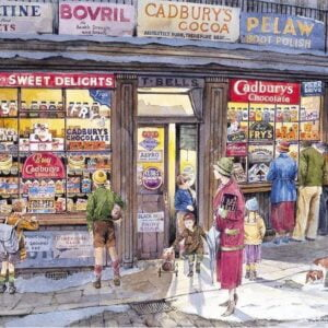 The Corner Shop 500 Piece Puzzle - Gibsons