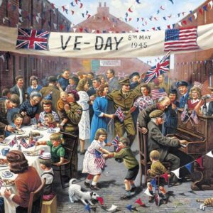 Ve Day 500 Piece Puzzle - Gibsons