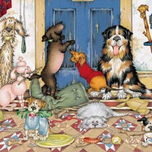 Walkies 636 Piece Puzzle - Gibsons